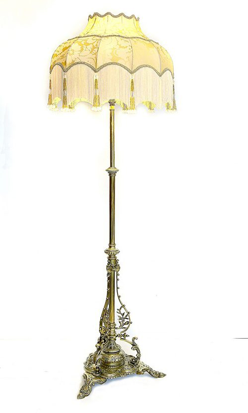 Antiques Atlas Victorian Brass Standard Lamp