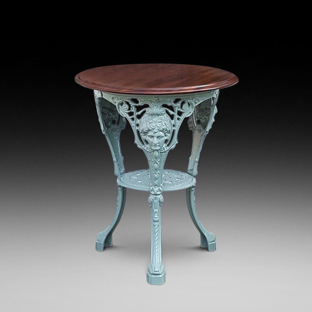 Outdoor Victorian Table: Victorian Cast Iron Garden Table