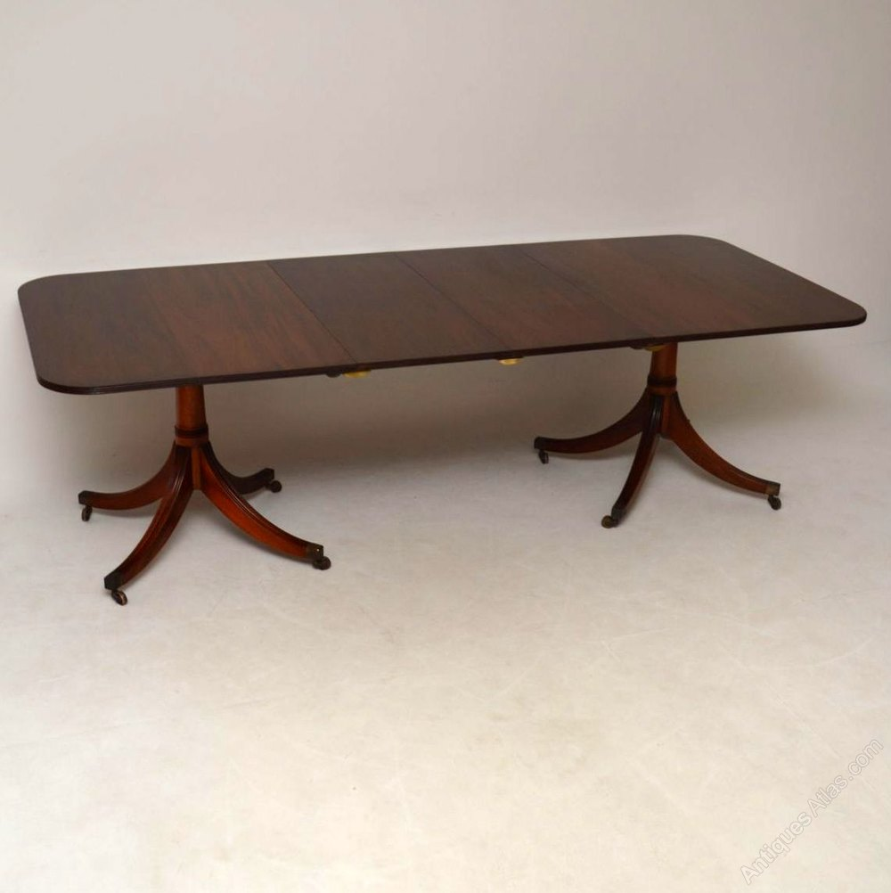 large antique mahogany extending dining table antiques atlas