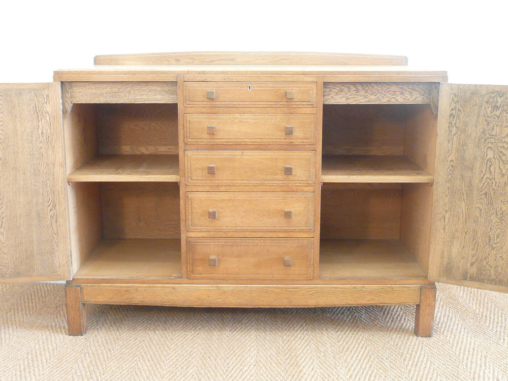 Arts And Crafts Sideboard For Sale