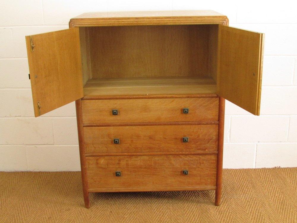 Bath Cabinet Makers Oak Tallboy Cabinet Over Chest Antiques Atlas