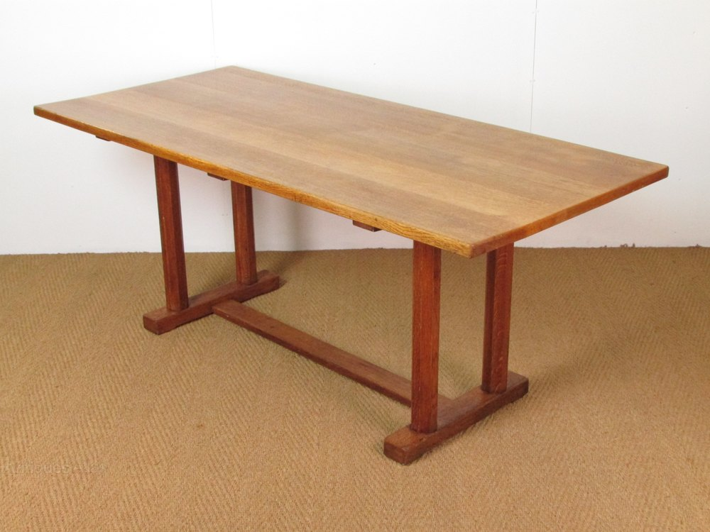 Cotswold School Oak Dining Table By Gordon Russell Antiques Atlas