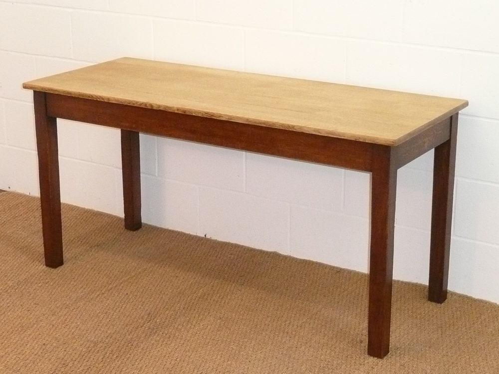 Gordon Russell Oak Kitchen Work Table - Antiques Atlas