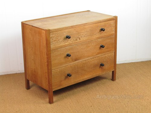 Heal S Limed Oak Quot Letchworth Quot Chest Of Drawers Antiques