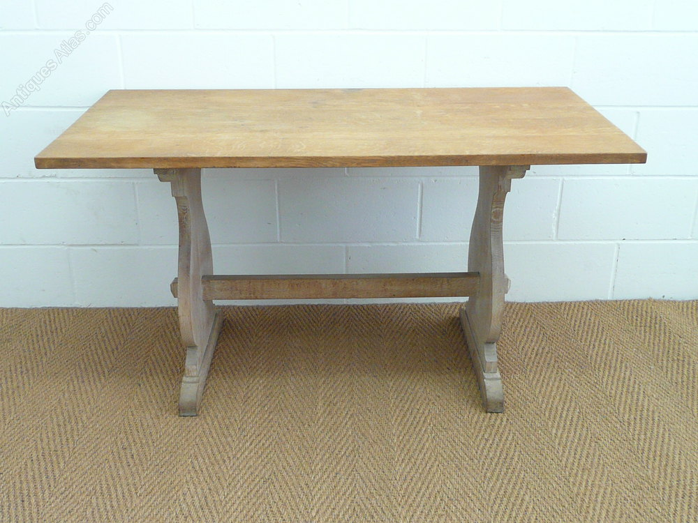 Heals Limed Oak Refectory Dining Table Midcentury Retro And Vintage Dining  Tables Arts Crafts Heals Heal Son ...