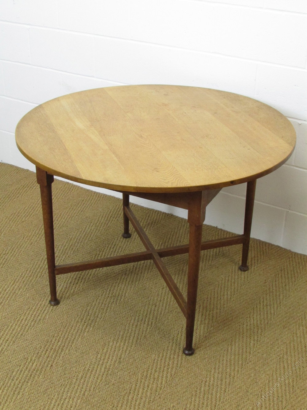 Heals Oak Circular Breakfast Dining Table