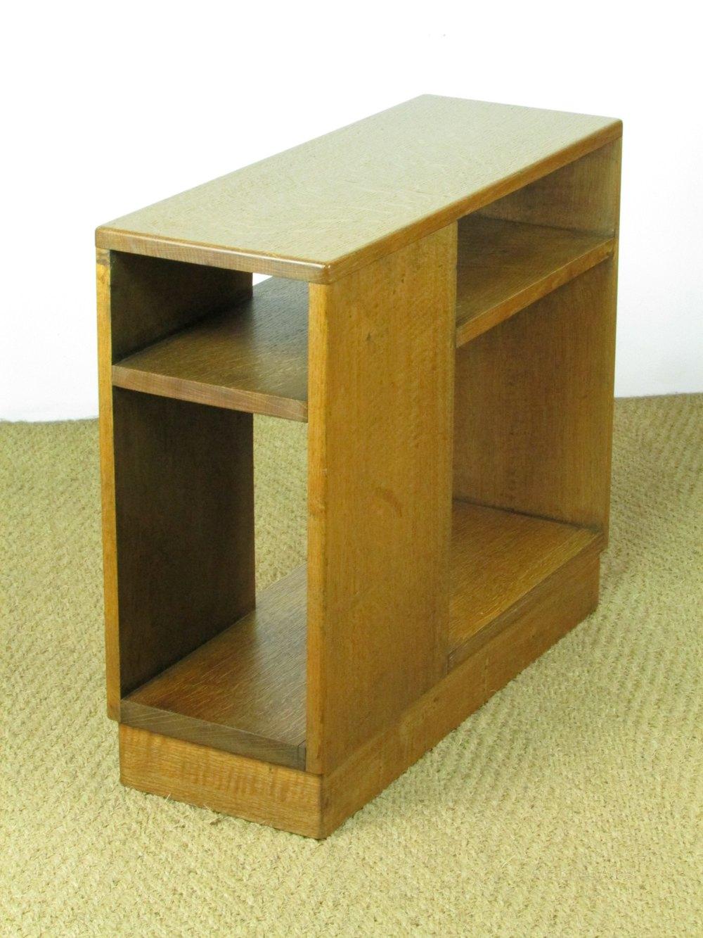 heal 39 s oak side bookcase table antiques atlas