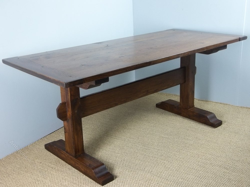 Antique Kitchen Refectory Dining Table Antiques Atlas
