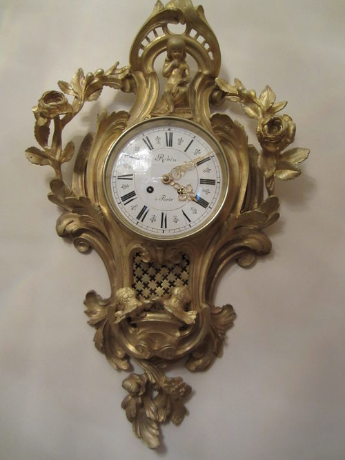 Antiques Atlas French Cartel Wall Clock