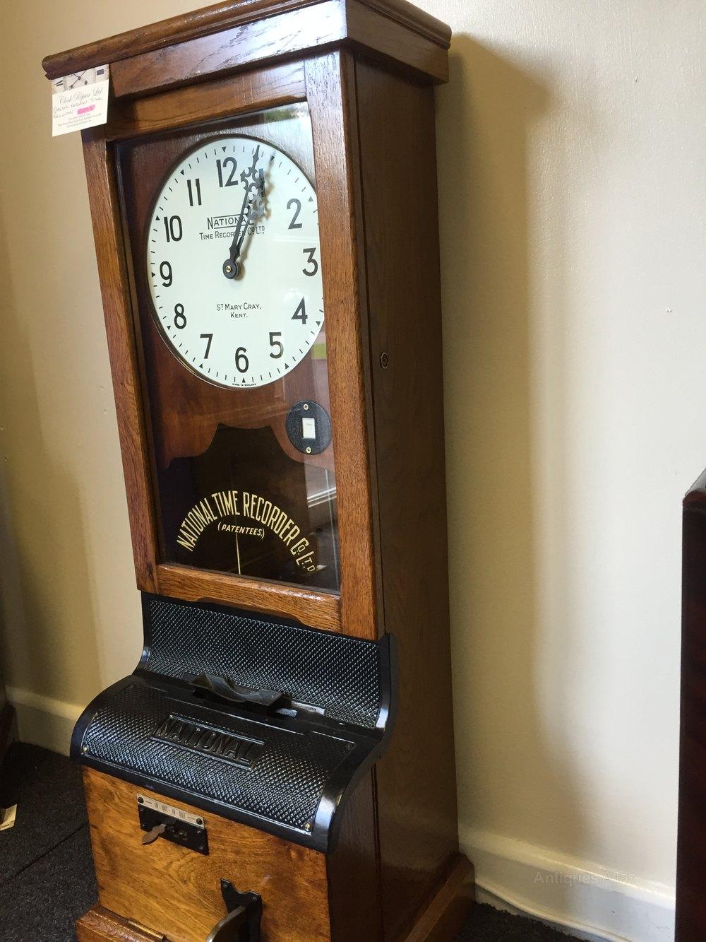 Antique time recorder clock best 2000 antique decor ideas - Decor union 2000 ...