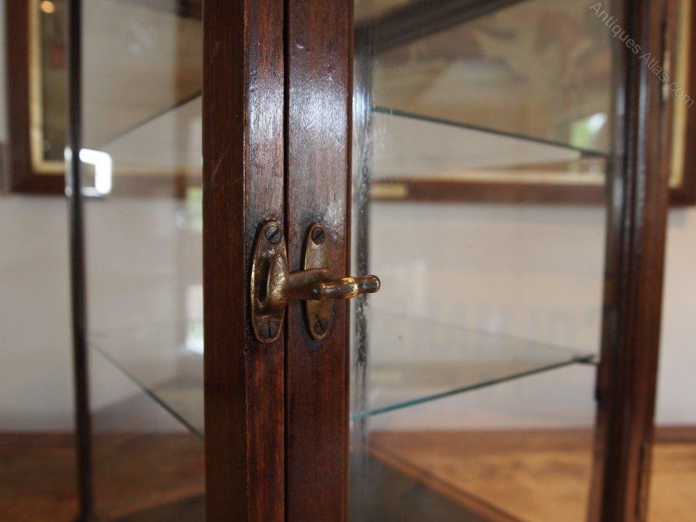 cabinet display shop victorian haberdashery c1890 antiques atlas. Black Bedroom Furniture Sets. Home Design Ideas
