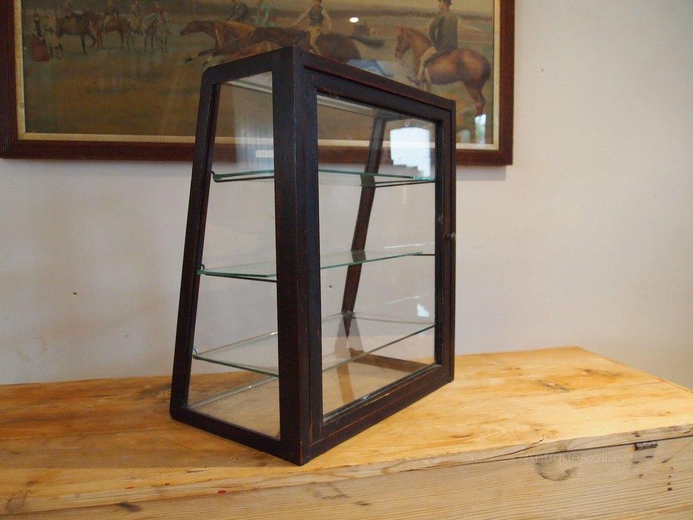 cabinet display shop haberdashery oak c1920 antiques atlas. Black Bedroom Furniture Sets. Home Design Ideas
