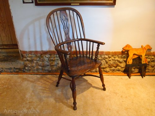 Chair Windsor George Iv Ash And Elm C1820 Antiques Atlas