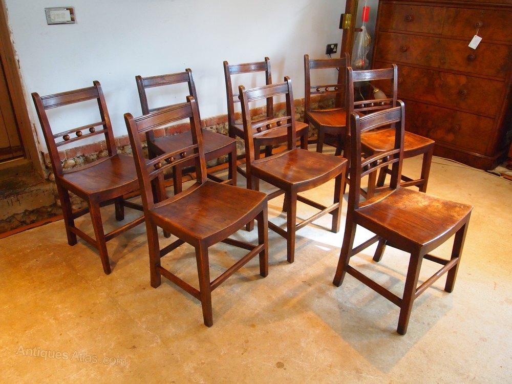 chairs 8 east anglian ash elm ball back windsor antiques atlas. Black Bedroom Furniture Sets. Home Design Ideas