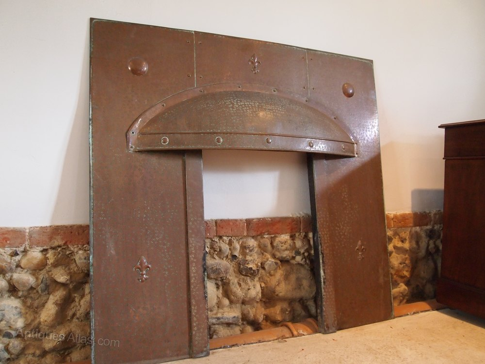 Fireplace Surround Arts And Crafts Copper C1900