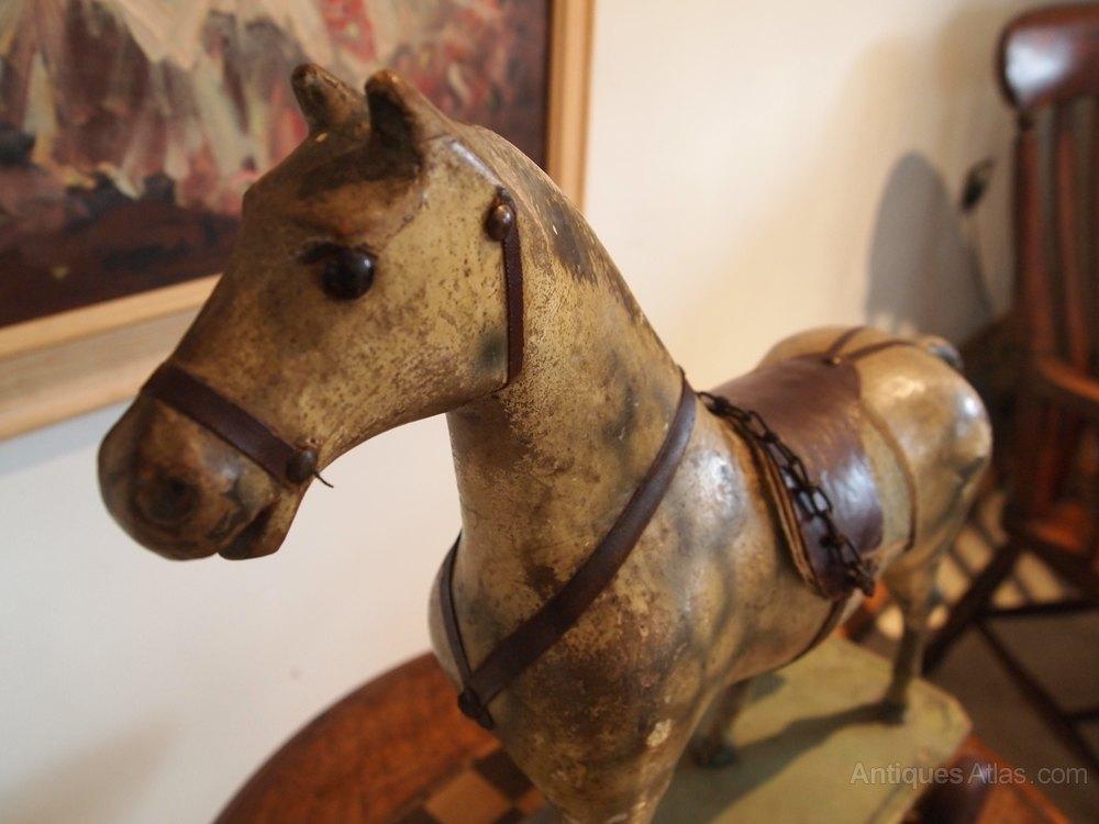 Antiques Atlas Horse Folk Art Pull Along Childs German
