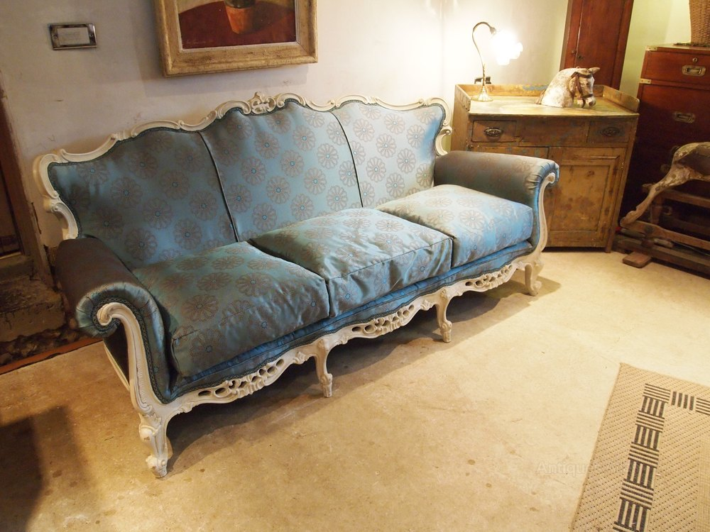 Sofa Settee Stunning Victorian Period French