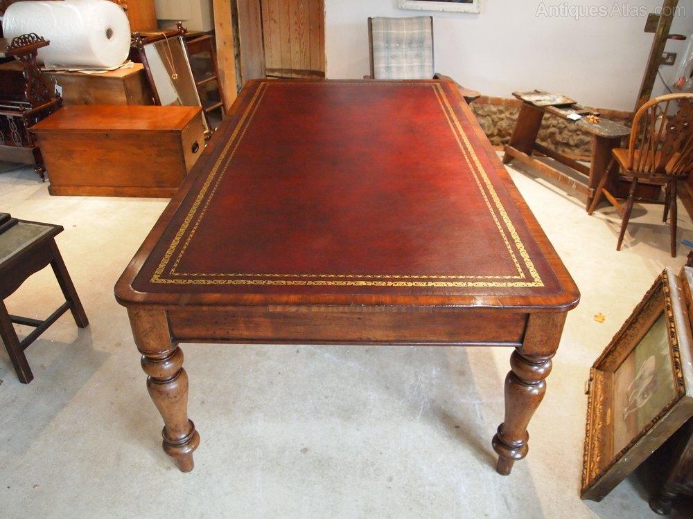 table library desk boardroom george iv mahogany antiques atlas. Black Bedroom Furniture Sets. Home Design Ideas