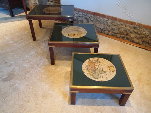 Surprising Antiques Atlas Table Nest Of Coffee Tables Military Glass Home Remodeling Inspirations Propsscottssportslandcom