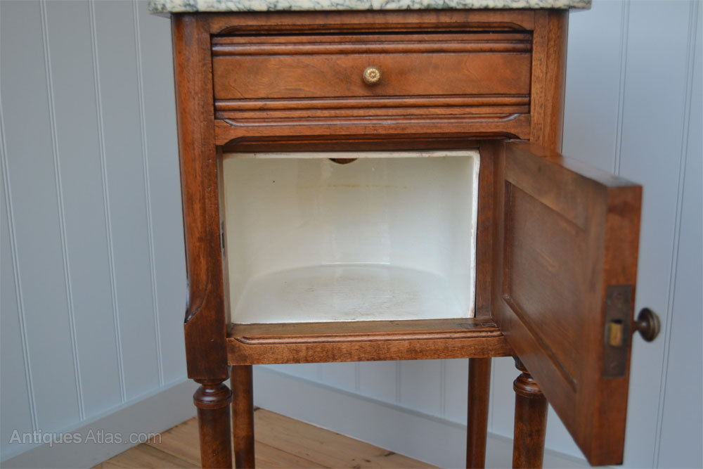 ... Antique Pot Cupboards pot cupboard ... - Antique French Pot Cupboard With Marble Top - Antiques Atlas