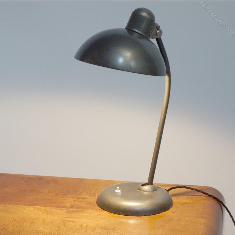 Art Deco Bauhaus Desk lamp circa 1930. Antique Lighting ... - Antiques Atlas - Art Deco Bauhaus Desk Lamp Circa 1930.