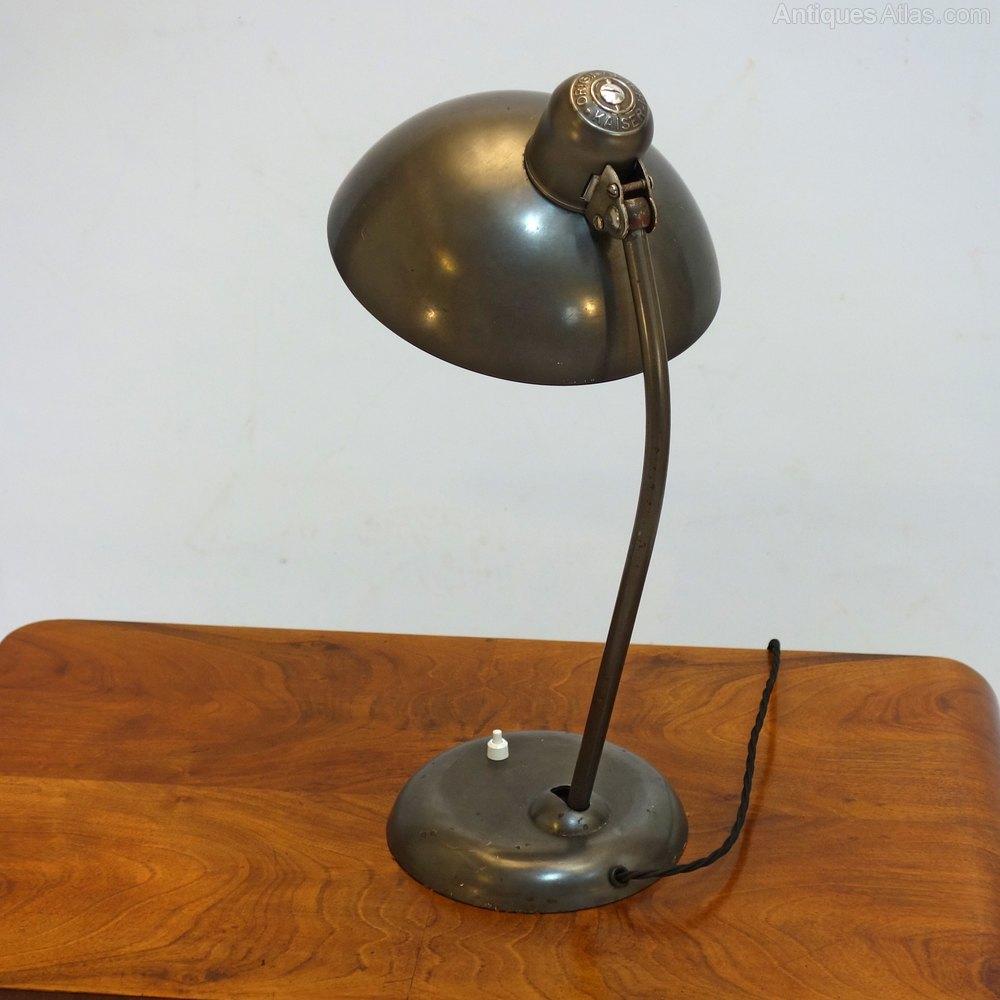 antiques atlas art deco bauhaus desk lamp circa 1930. Black Bedroom Furniture Sets. Home Design Ideas