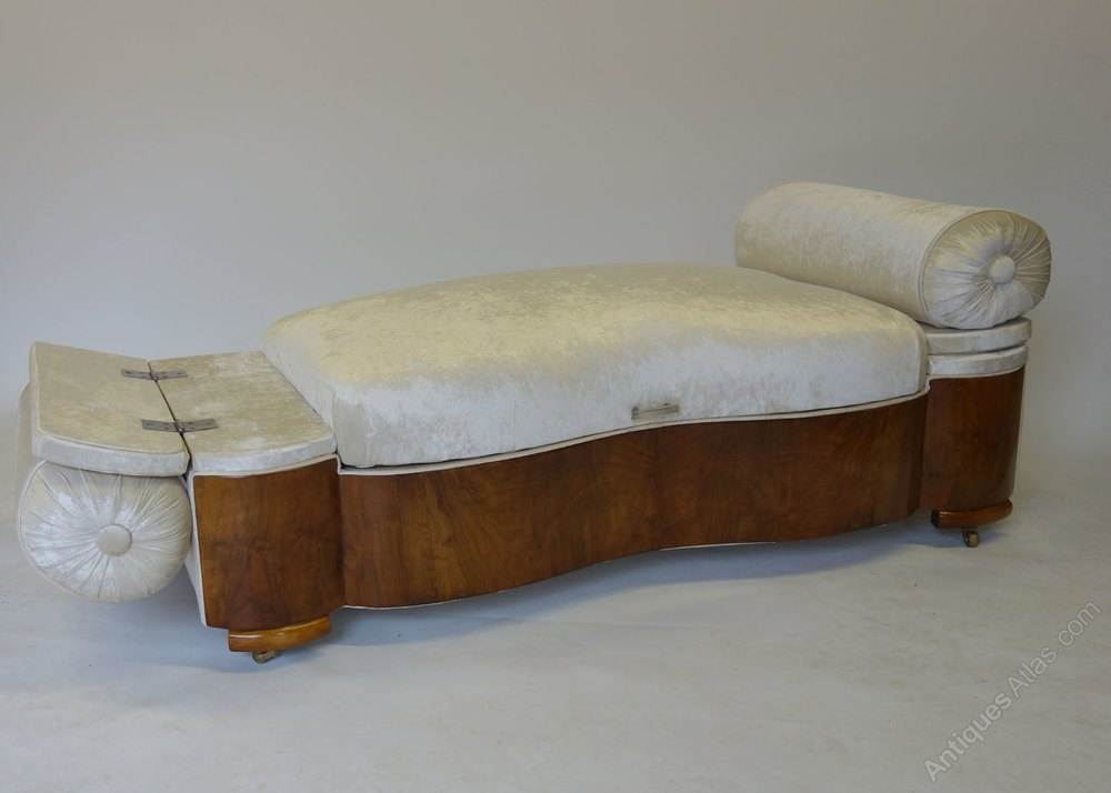 Art Deco Daybed Ottoman English Antiques Atlas
