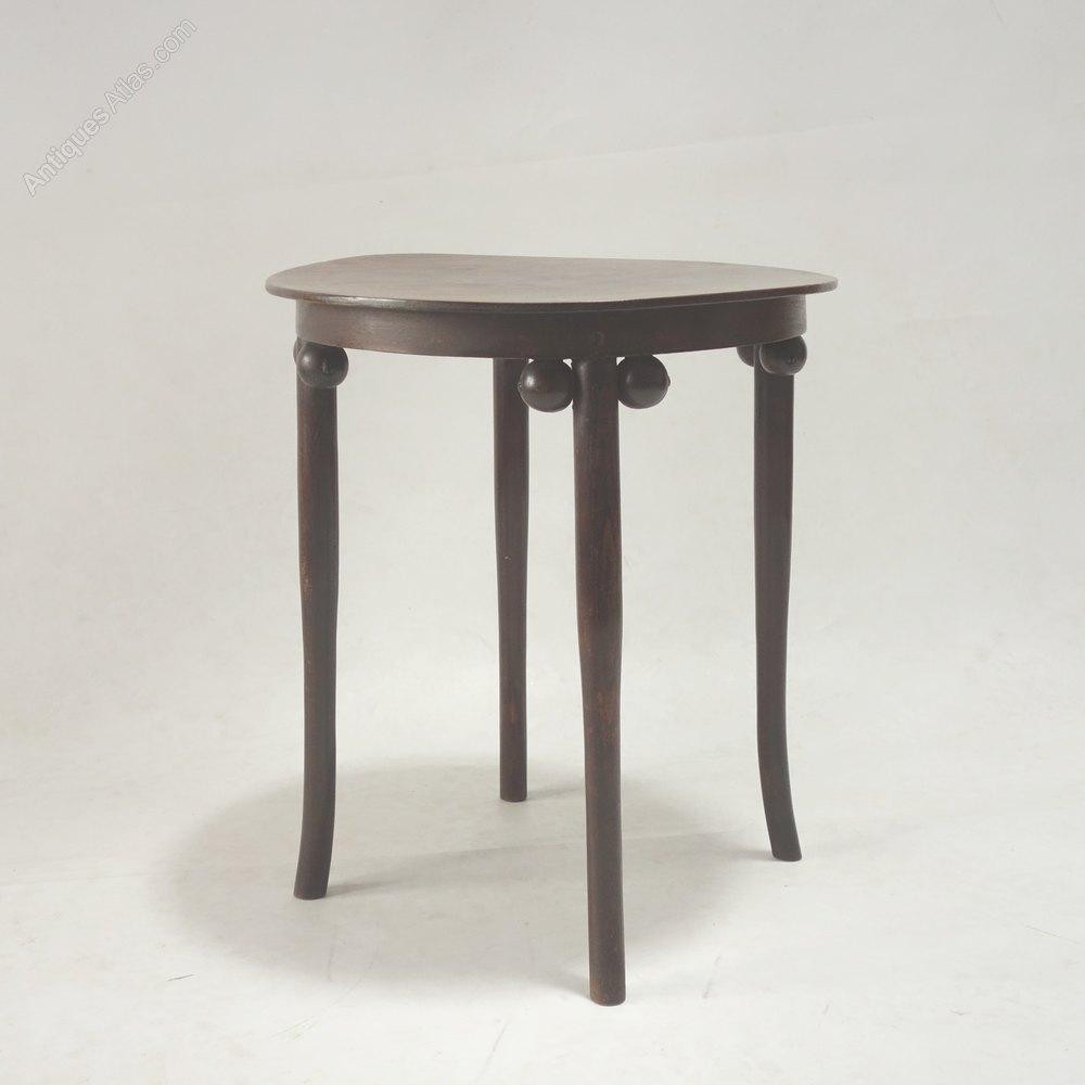 ... Antique Occasional Tables Thonet Secessionist
