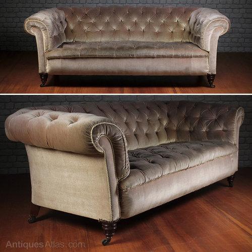 Chesterfield Sofa By Hampton U0026 Sons.   Antiques Atlas