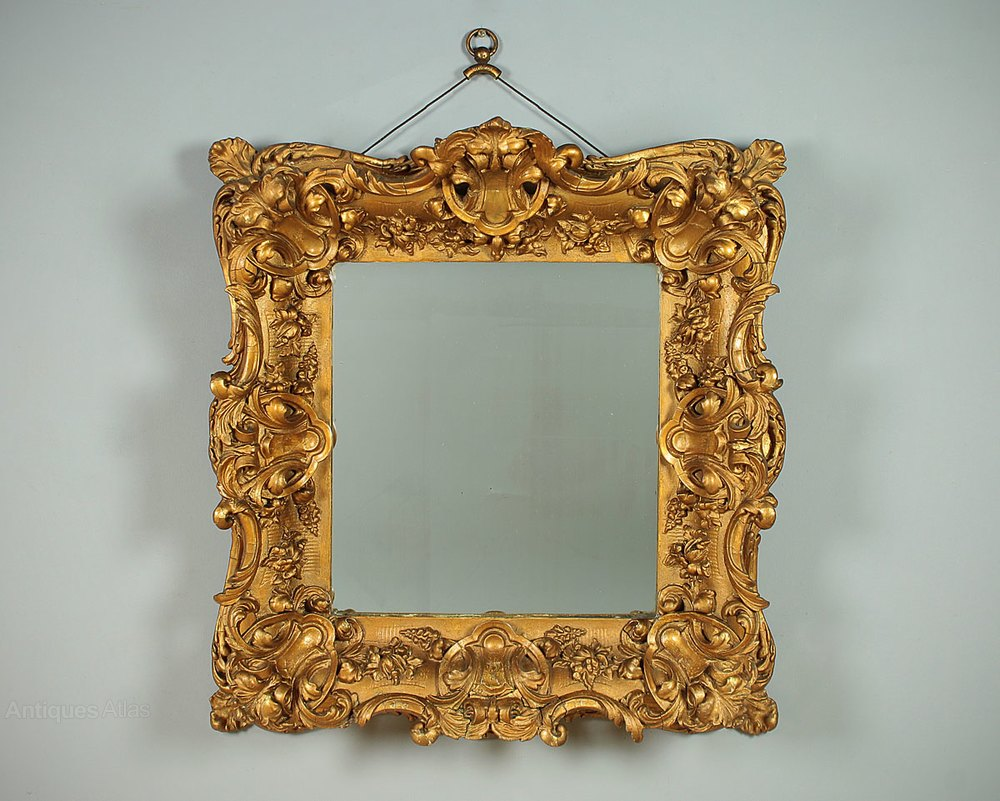 Antiques Atlas 19th C Rococo Style Gilt Frame Wall