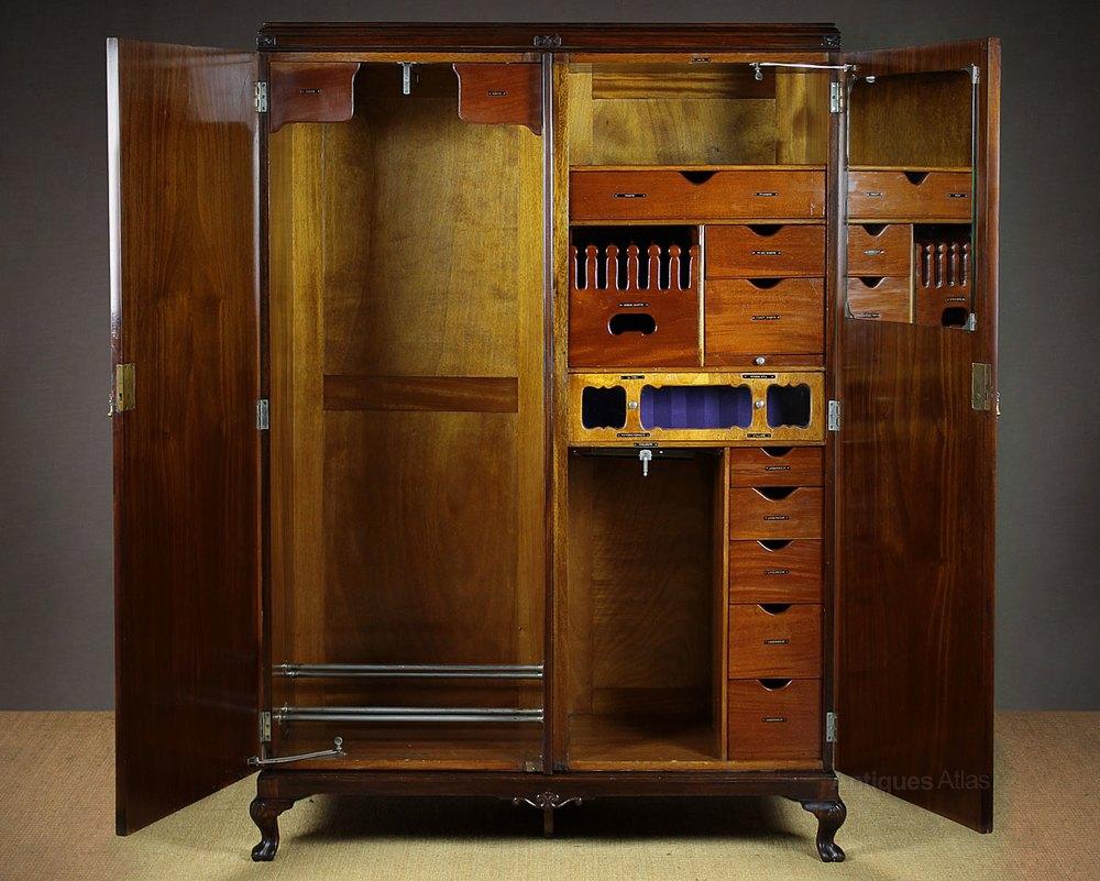 20th C Gentleman S Compactum Wardrobe C 1920 Antiques