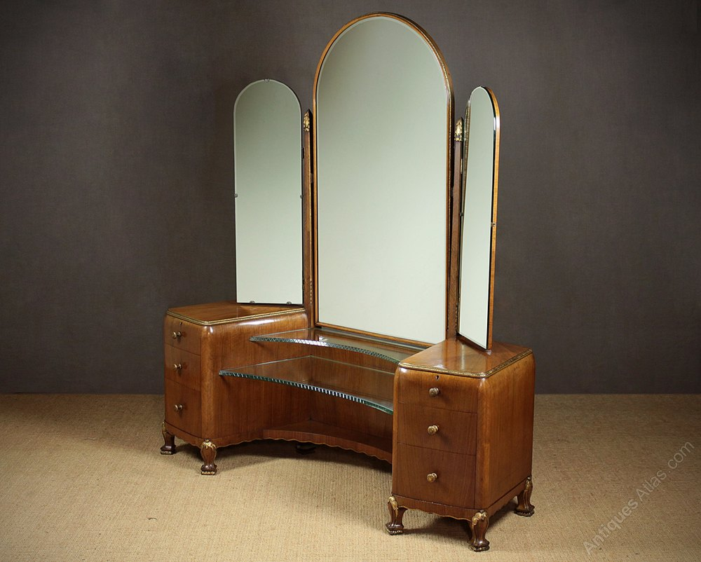 Art Deco Dressing Table C 1930 Antiques Atlas