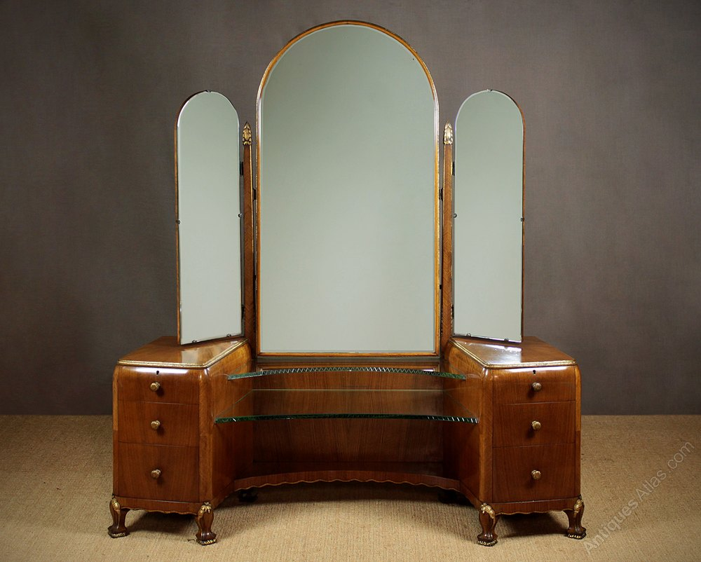 Art Deco Dressing Table C 1930 Antiques Atlas