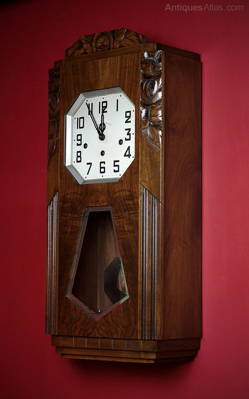 Antique Wall Clocks Art Deco ...