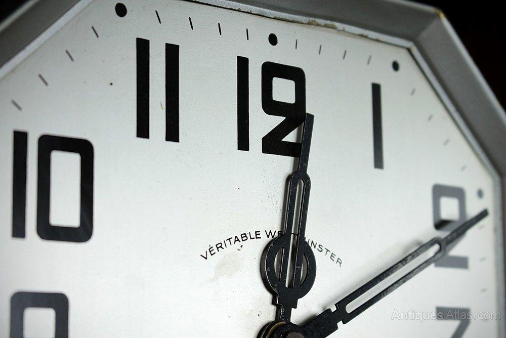 Antiques Atlas Art Deco Wall Clock C1930
