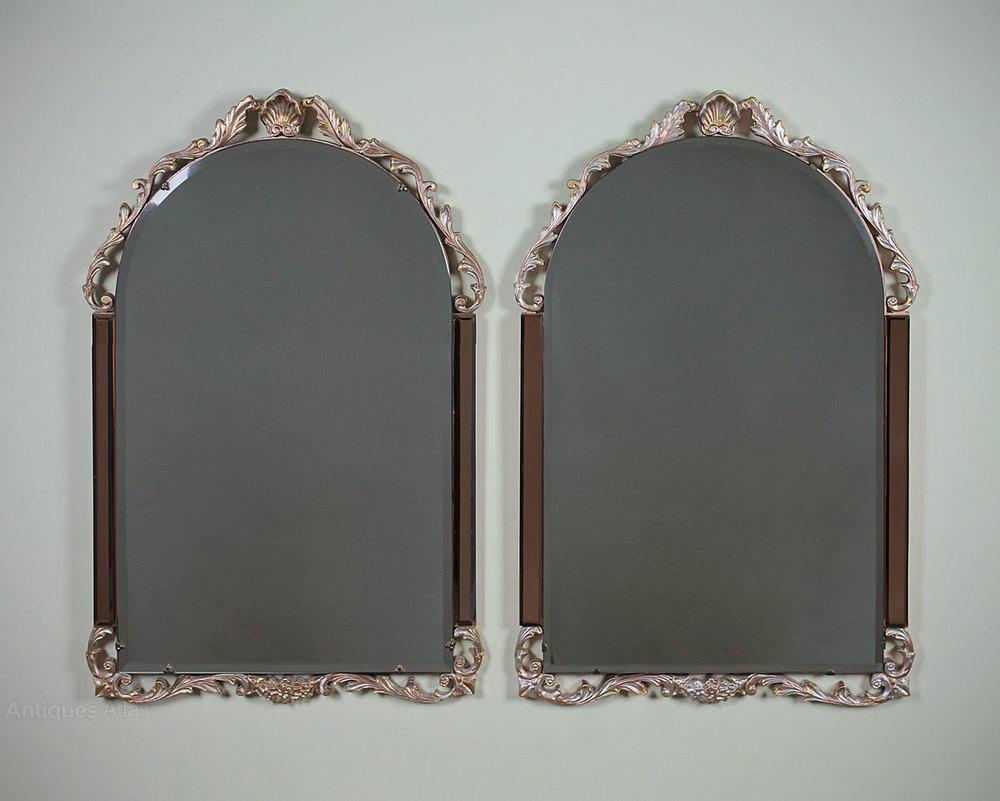 Antiques Atlas Art Deco Style Wall Mirrors C 1950