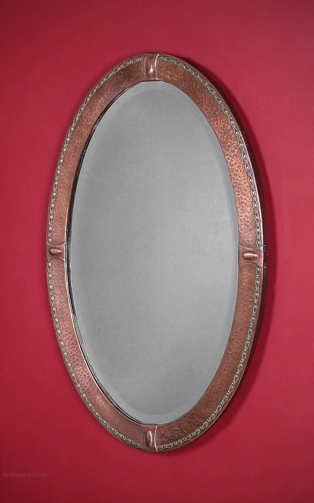 Antiques Atlas Arts Amp Crafts Copper Mirror C 1910
