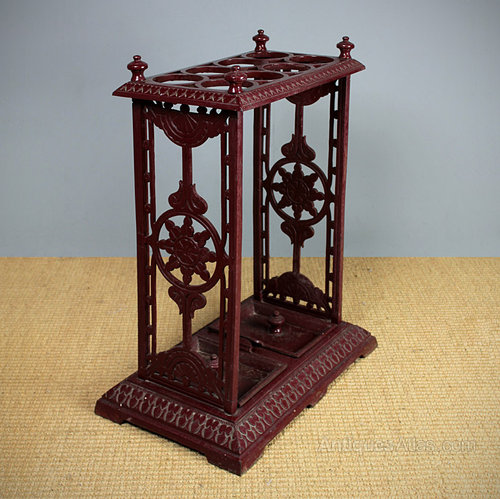 cast iron umbrella stand. - antiques atlas Antique Umbrella Stand