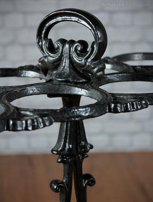 Cast Iron Umbrella Stand C 1860 Antiques Atlas