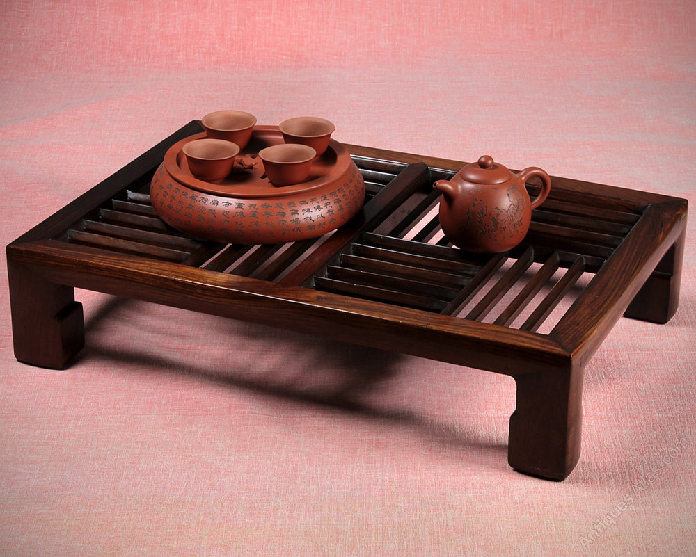 Captivating Chinese Rosewood Tea Table C.1900.