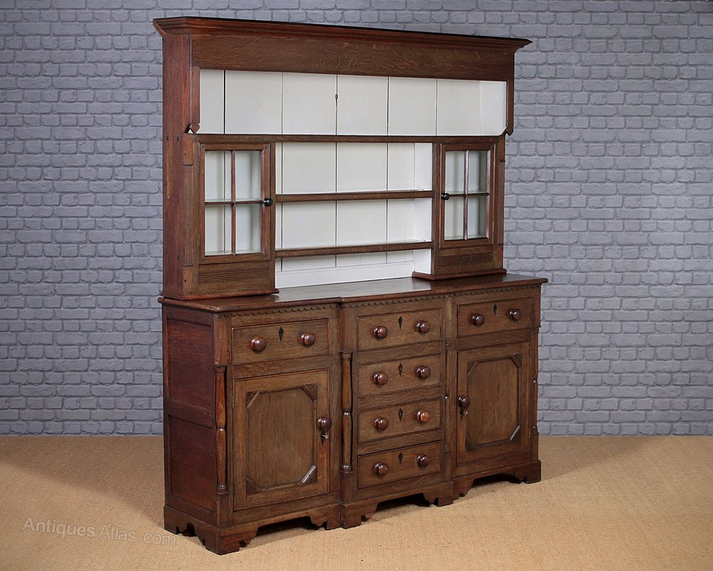Oak Welsh Dresser C 1820 Antique Dressers