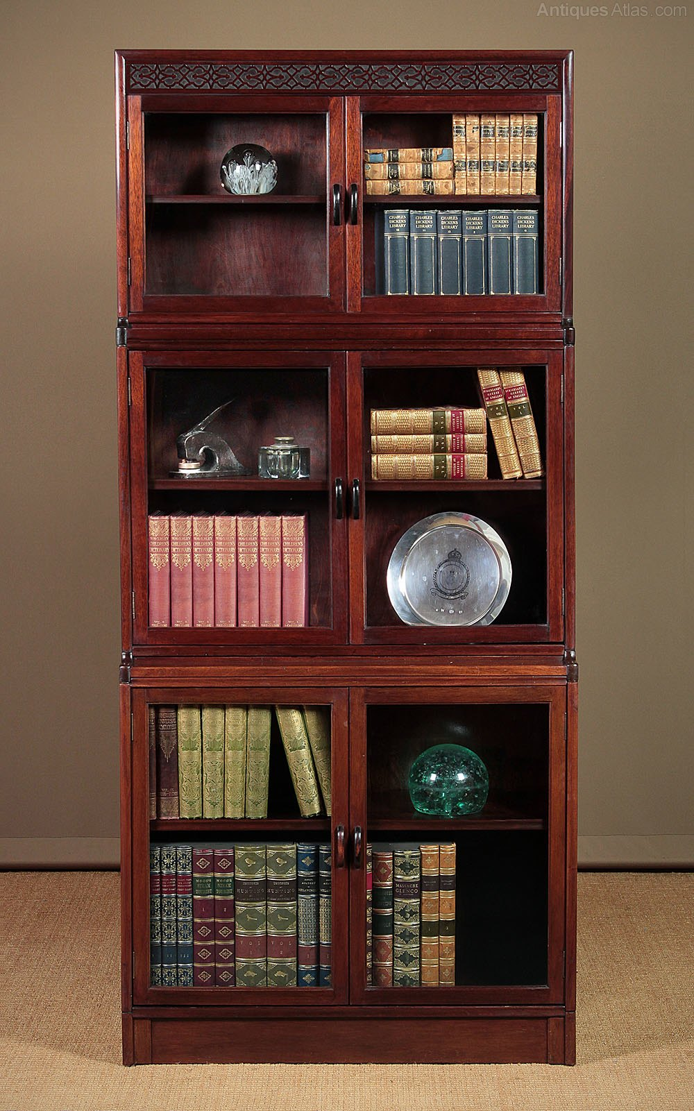 Early 20th C Stacking Bookcase By Gunn C 1920