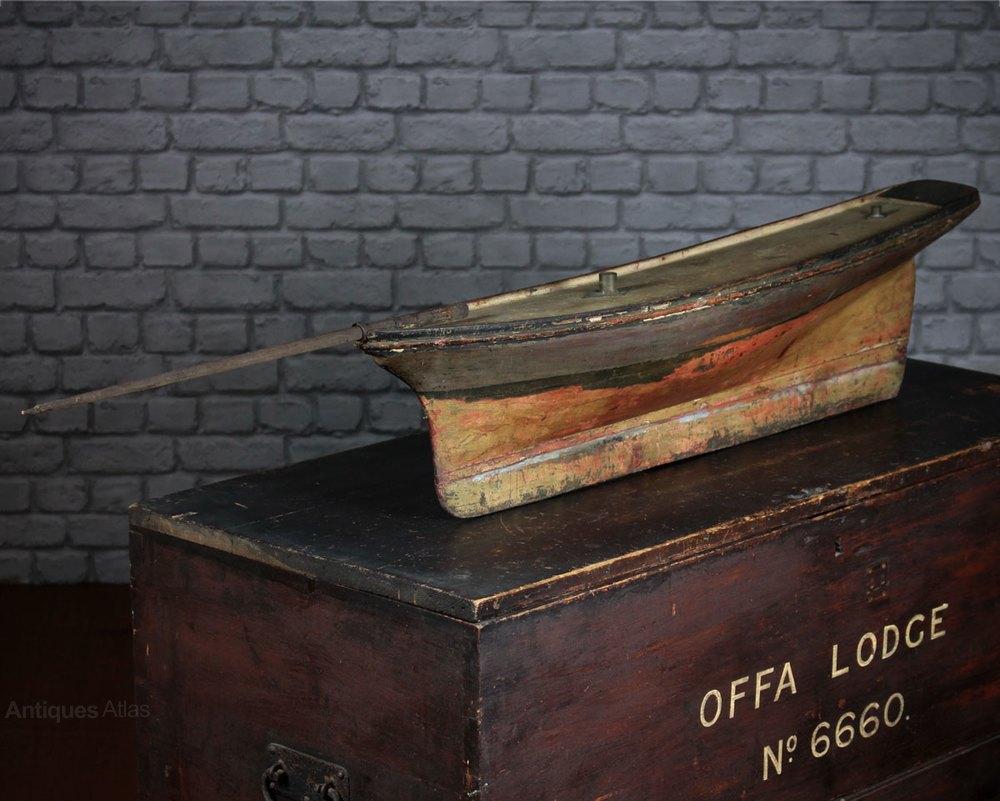 Antiques atlas edwardian pond yacht hull for Pond dealers