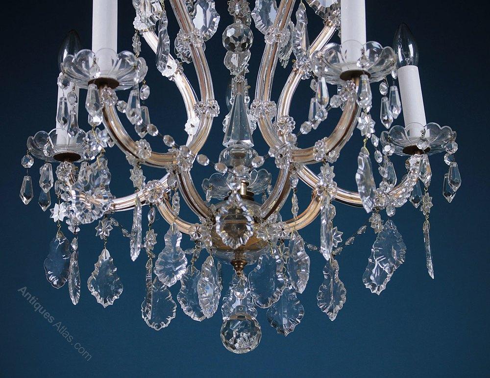 antiques atlas five branch chandelier. Black Bedroom Furniture Sets. Home Design Ideas
