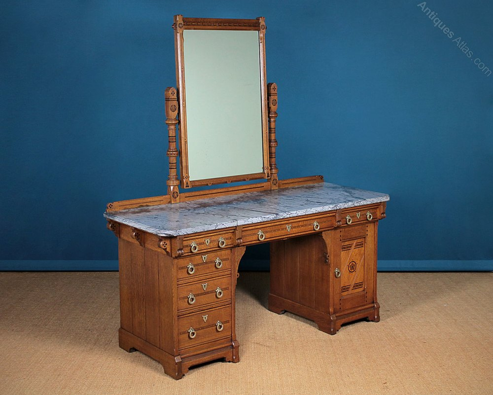 Gothic Revival Dressing Table Lamb Of Manchester