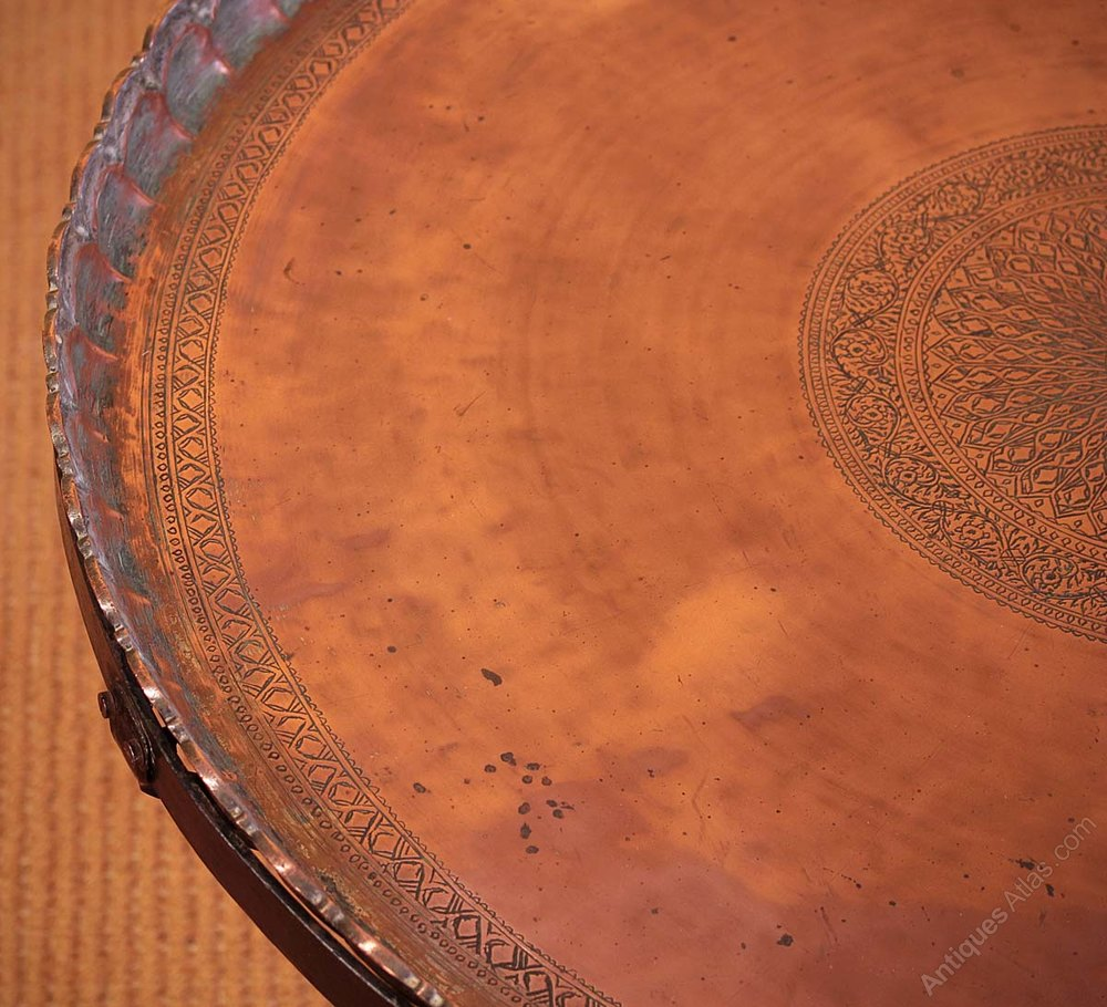 Cool Photos Large Copper Coffee Table