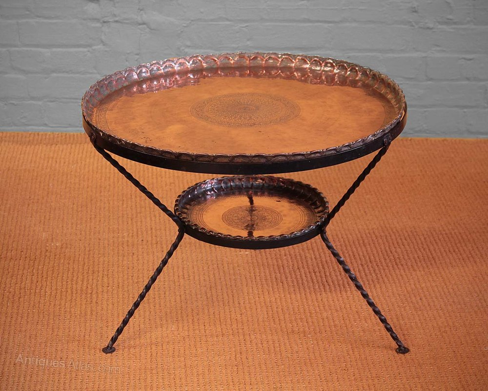 Popular Large Copper Coffee Table