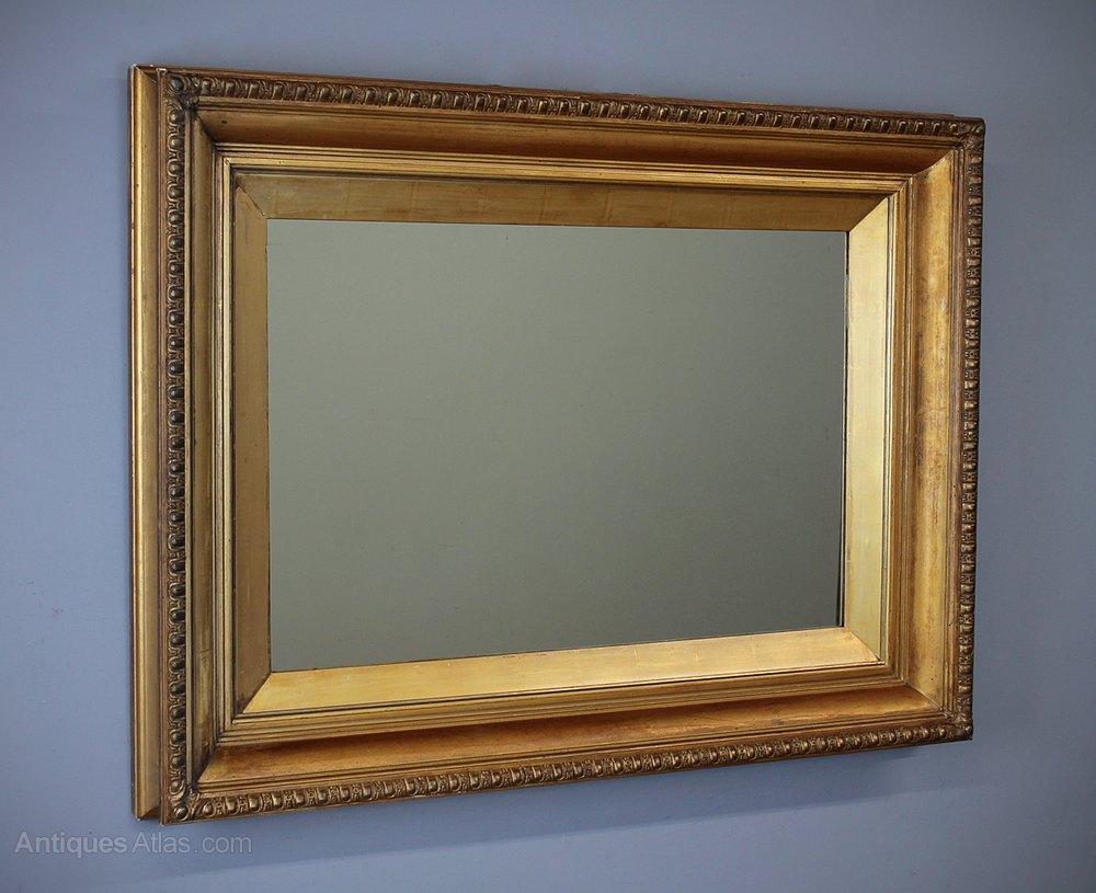 Antiques Atlas - Large Gilt Framed Mirror C.1890.
