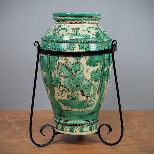 Antiques Atlas Large Spanish Floor Vase