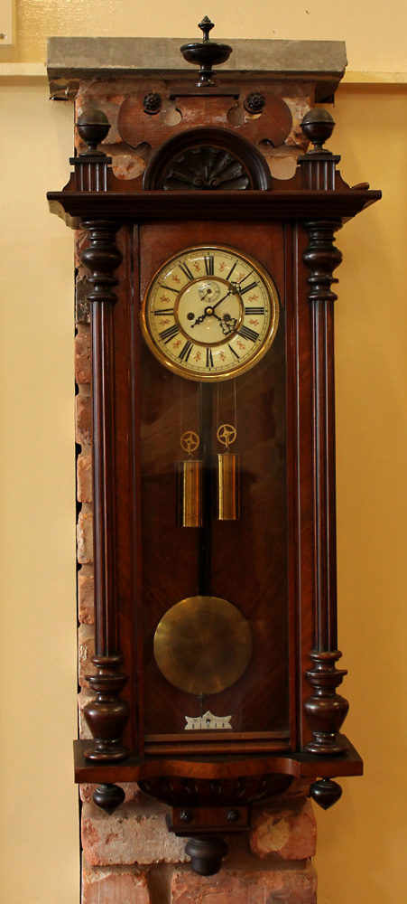 Antiques Atlas Late 19th C Walnut Vienna Wall Clock